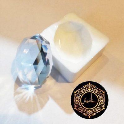قالب سیلیکونی بیضی الماسی
