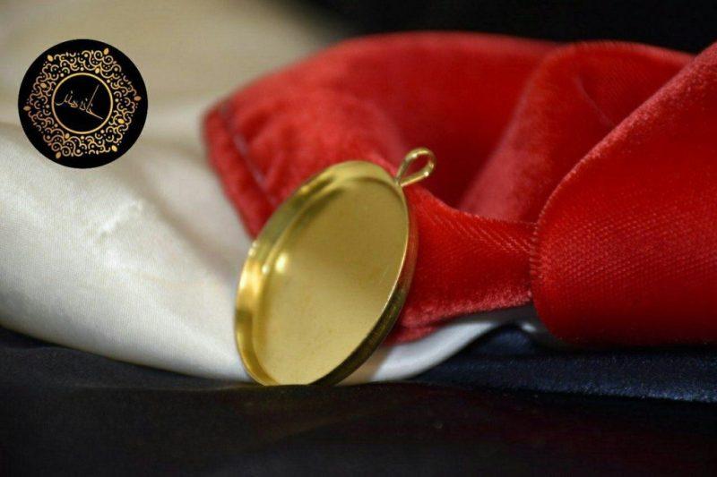 مدال برنجی دایره ای