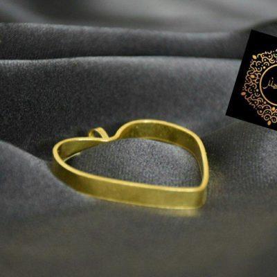 مدال برنجی قلبی