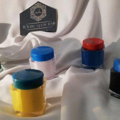 پک رنگ های خمیری متنوع