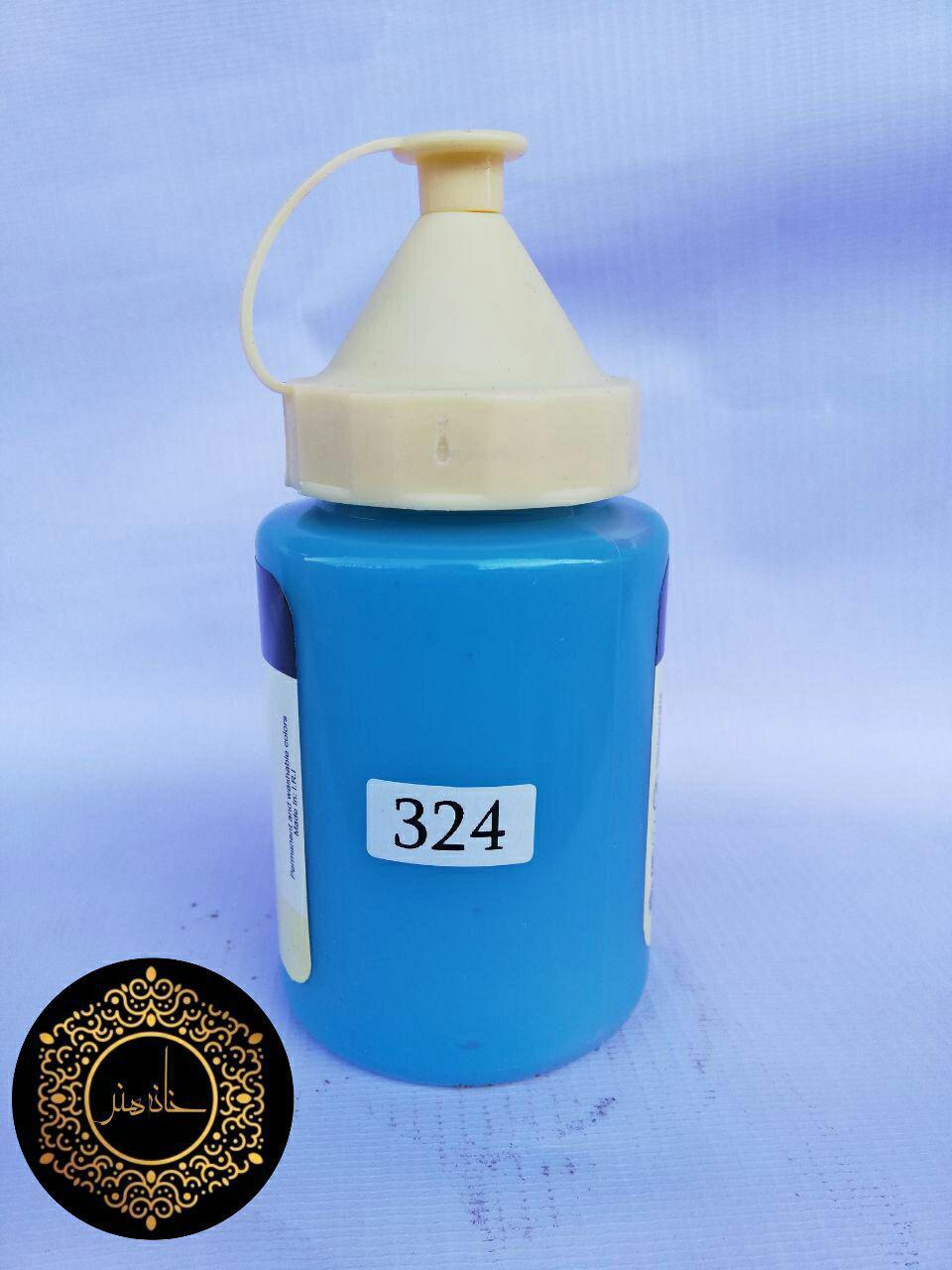 رنگ اکریلیک آبی ۲۸۰گرمی