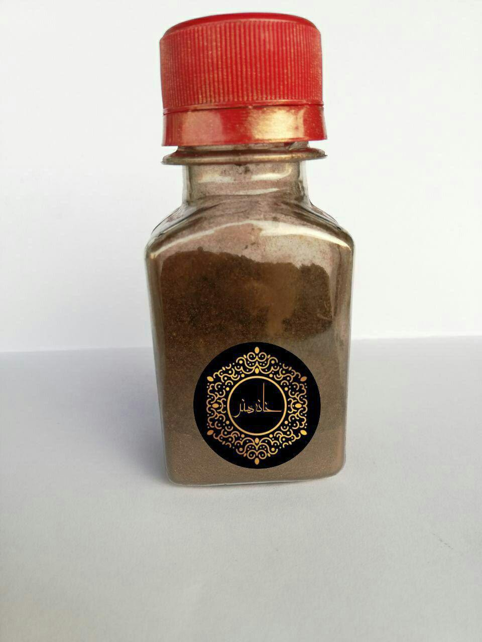 رنگ پودری صدفی قهوه ای ۱۰ گرمی