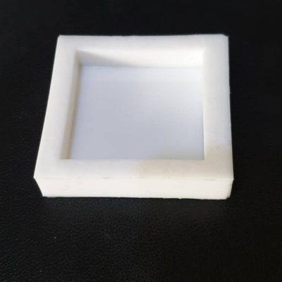 قالب سیلیکونی مربع شکل در ابعاد ۵*۵