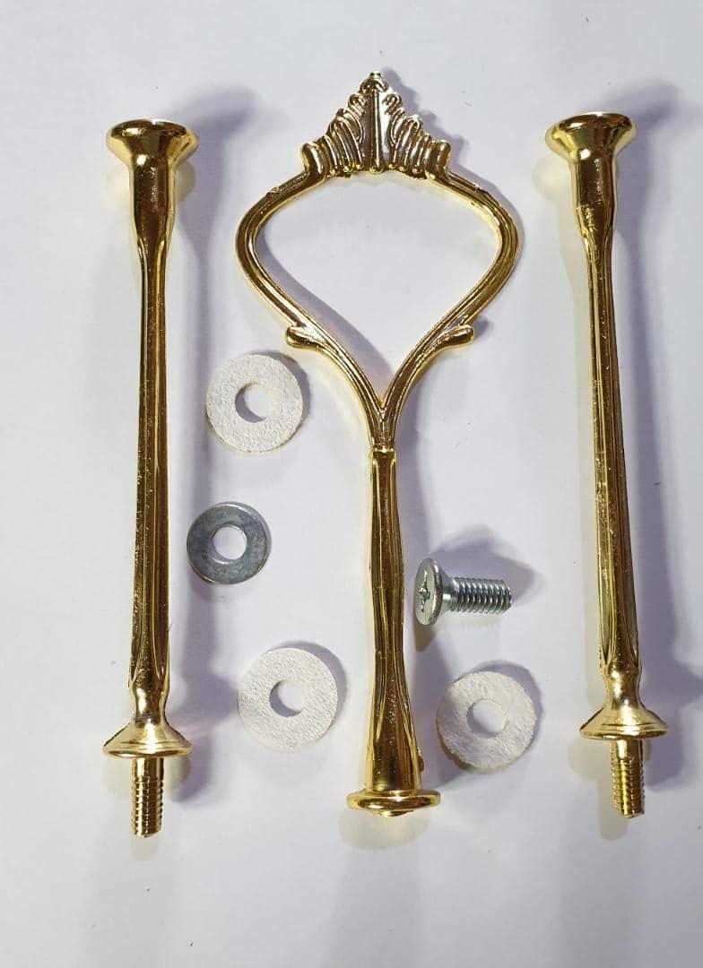 دسته سینی سه طبقه با اتصالات