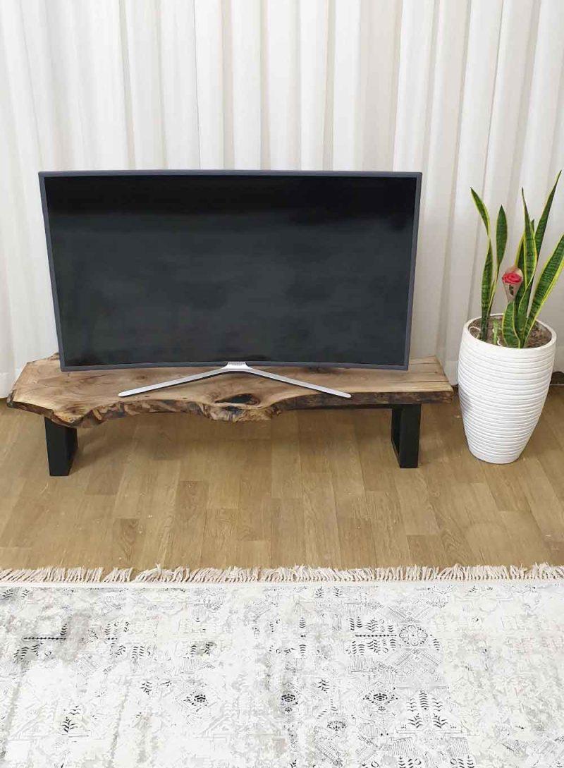 میز tv با چوب گردو